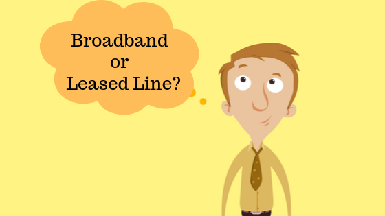 leased line broadband connection